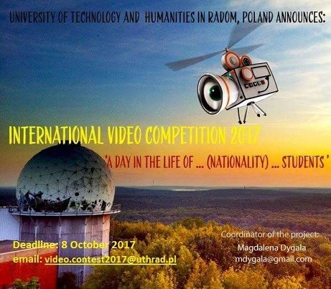 International video competition poster